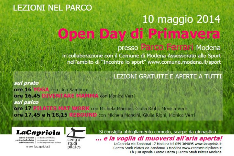 OPEN DAY DI PRIMAVERA 2014 (Custom)