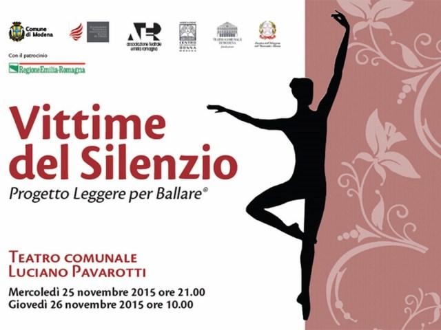 Vittime del silenzio al Teatro Pavarotti