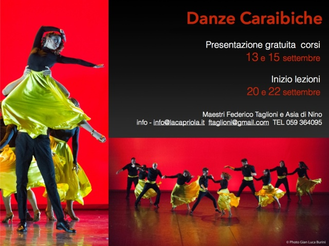 Danze caraibiche con Federico Taglioni e Asia Di Nino