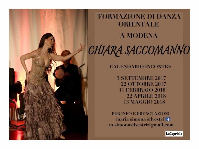 Danza orientale: formazione con Chiara Saccomanno