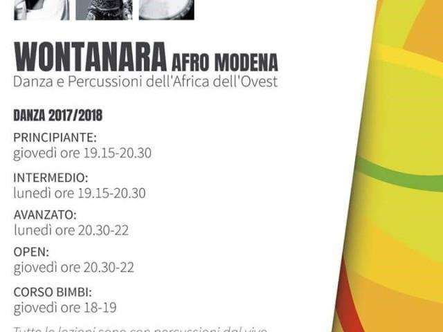 Danza tradizionale africana e percussioni