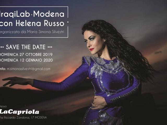 Iraqi Lab con Helena Russo