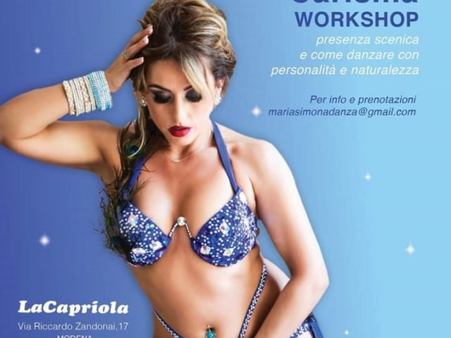 CARISMA workshop con Martina Tellini